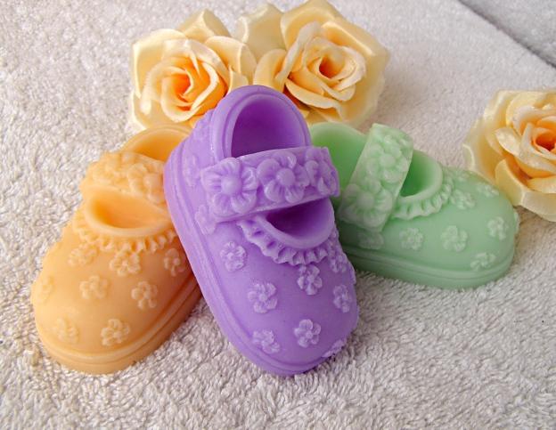 Mýdlové sandálky - 1
